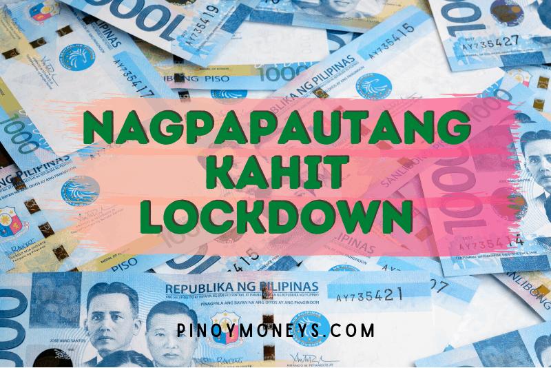 Online loans na nagpapautang kahit may lockdown
