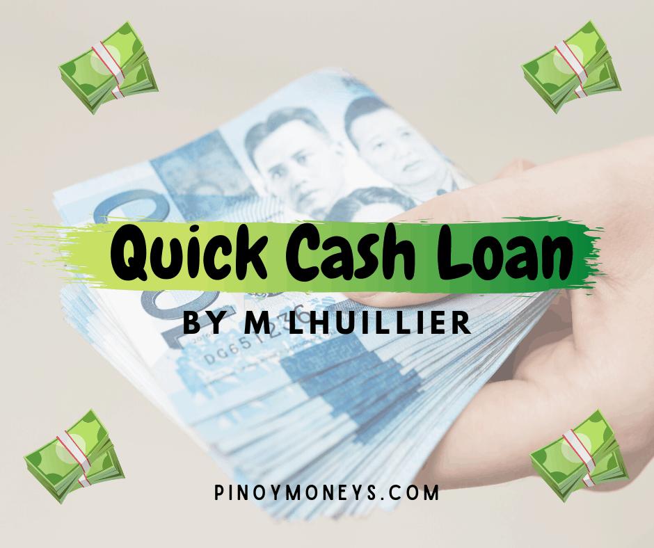 M Lhuillier Quick Cash Loans